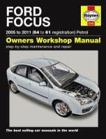 Ford Focus 1.4 1.6 1.8 2.0 Petrol 05-11 54-61 Reg Haynes Workshop Repair Manual